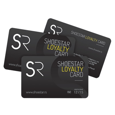 Shoestar Loyalty Card